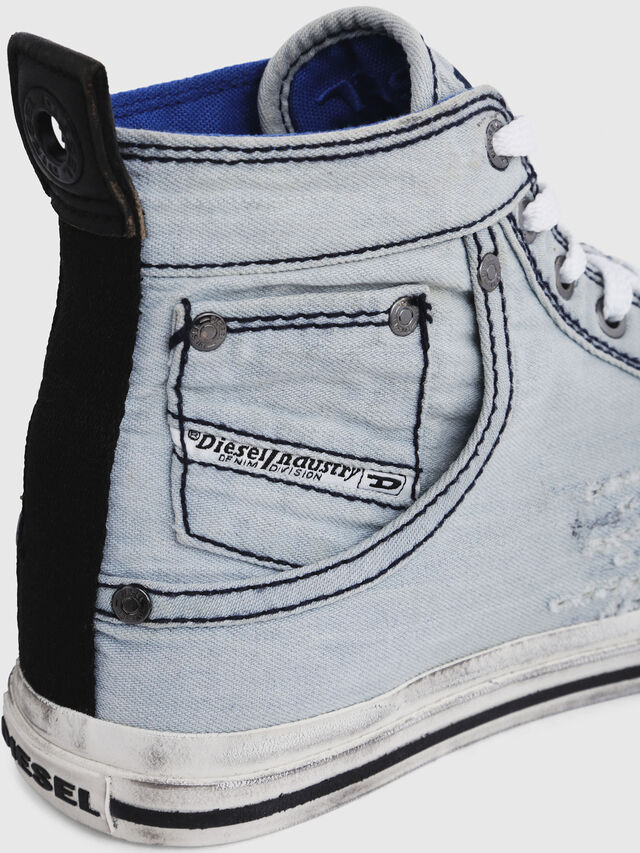 Diesel - EXPOSURE I, Light Blue - Sneakers - Image 5