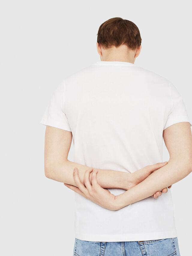 Diesel - T-DIEGO-C4, White - T-Shirts - Image 2
