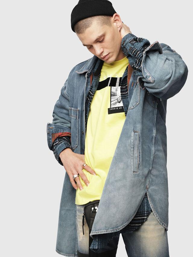 Diesel - D-LOREN, Blue Jeans - Denim Jackets - Image 3