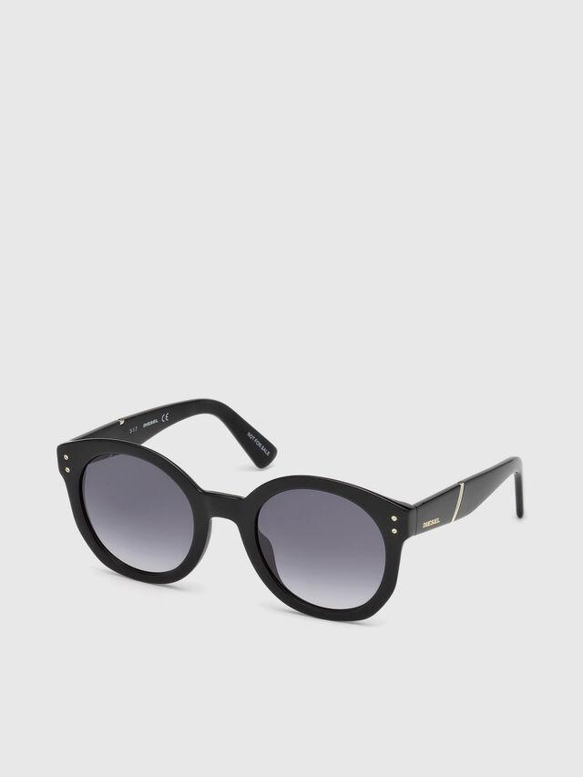 Diesel - DL0252, Black - Sunglasses - Image 4