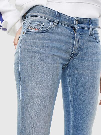 Diesel - Slandy Low 0096L, Light Blue - Jeans - Image 3