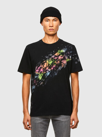 Diesel - T-JUST-A40, Black - T-Shirts - Image 1