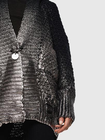 Diesel - M-MIKO, Black/Silver - Knitwear - Image 6