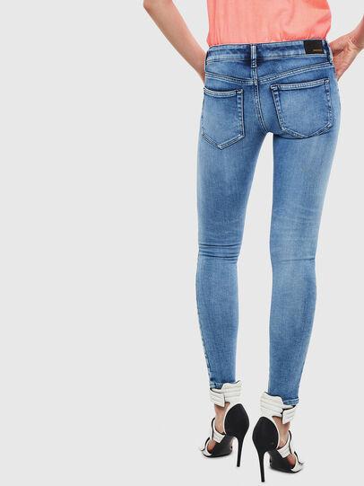 Diesel - Slandy Low 0095P, Light Blue - Jeans - Image 2