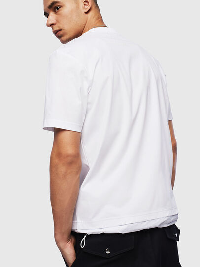 Diesel - T-GLASSY, White - T-Shirts - Image 2