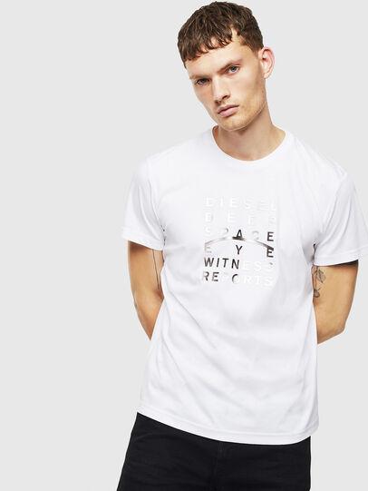 Diesel - T-DIEGO-J8, White - T-Shirts - Image 1