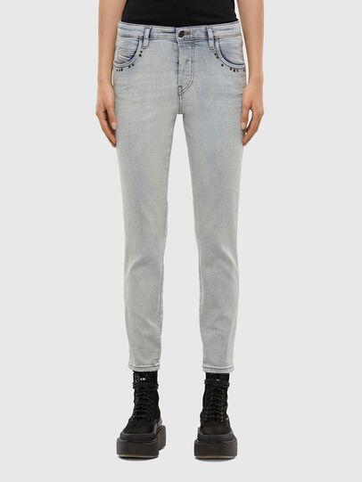 Diesel - Babhila 009JL, Light Blue - Jeans - Image 1