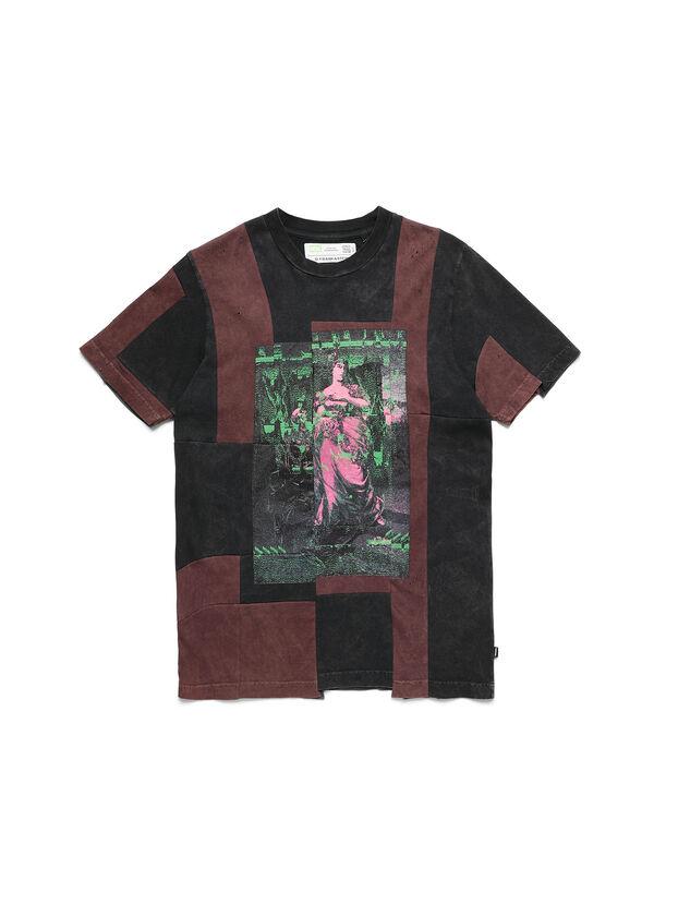 D-FRANK&STEIN, Red/Black - T-Shirts