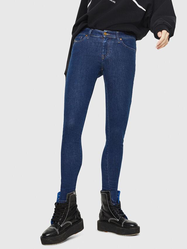 Diesel - Slandy 082AA, Medium blue - Jeans - Image 1