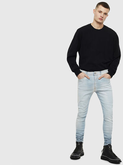 Diesel - D-Amny 009BE, Light Blue - Jeans - Image 6