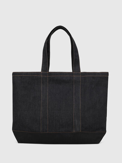 Diesel - D-THISBAG SHOP M, Blue - Shopping and Shoulder Bags - Image 2