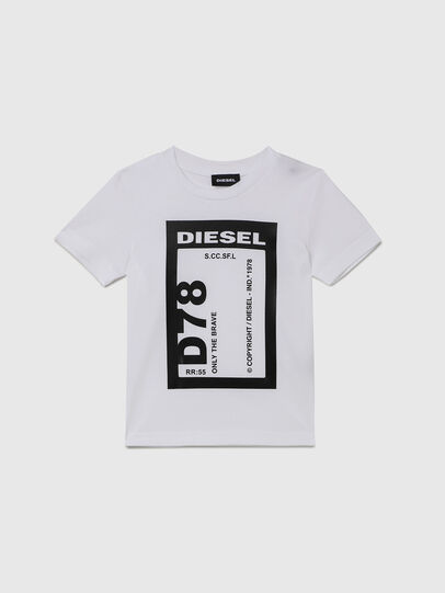 Diesel - TFULL78B-R, White - T-shirts and Tops - Image 1
