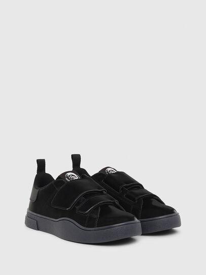 Diesel - S-CLEVER LOW STRAP W, Black - Sneakers - Image 2