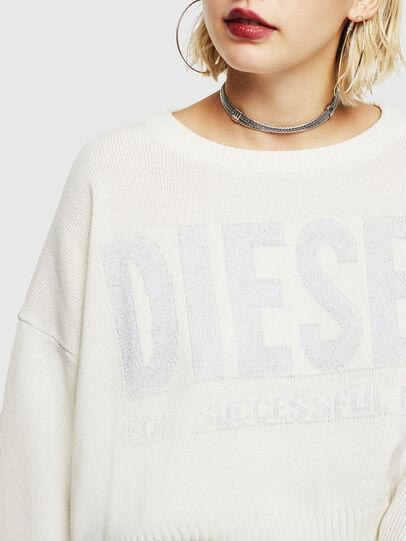 Diesel - M-LUREXY, White - Knitwear - Image 3