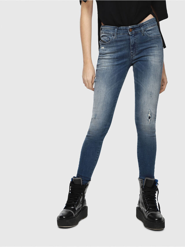 Diesel Slandy 084MU, Medium blue - Jeans - Image 1