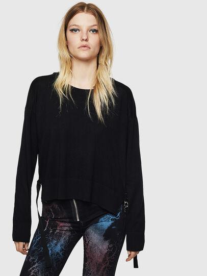 Diesel - M-PERLA, Black - Knitwear - Image 1