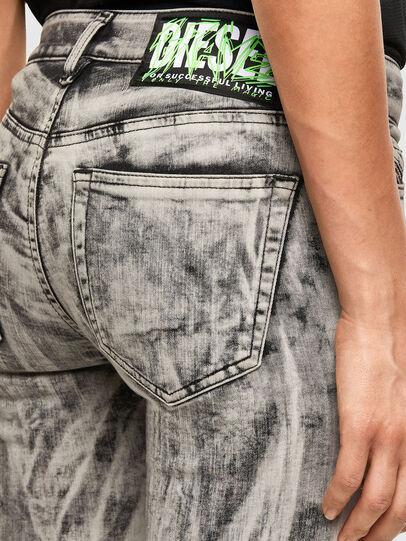 Diesel - Slandy 069NH, Light Grey - Jeans - Image 3