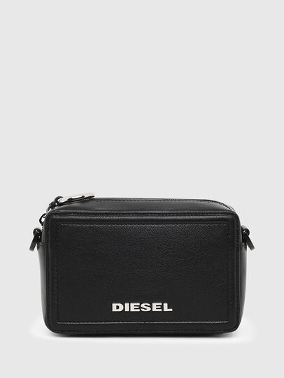 Diesel - ROSA' ML, Black - Crossbody Bags - Image 1
