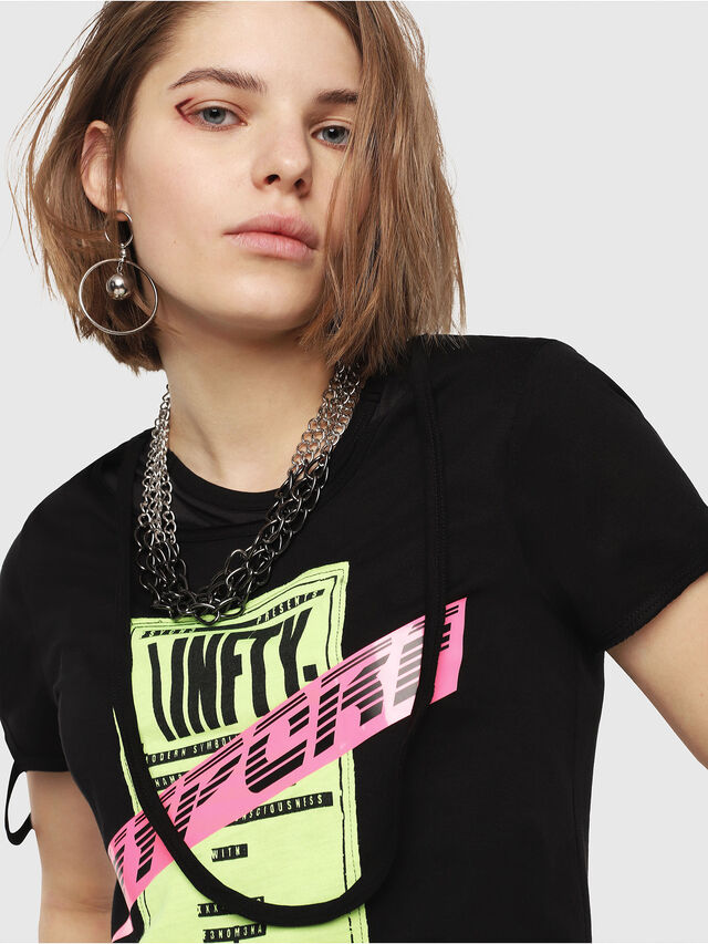 Diesel - T-EMIKO-B, Black - T-Shirts - Image 4