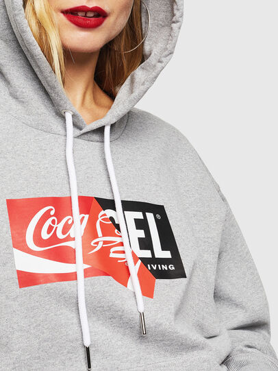Diesel - CC-S-ALBY-COLA, Grey - Sweaters - Image 6