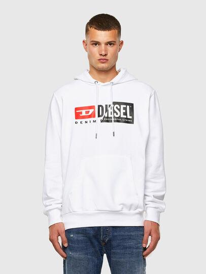 Diesel - S-GIRK-HOOD-CUTY, White - Sweaters - Image 4