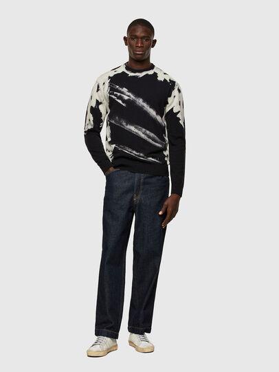 Diesel - K-NITRO, Black - Knitwear - Image 4