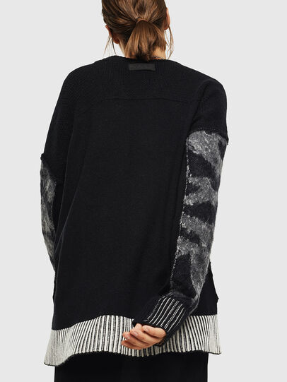 Diesel - M-POST, Black - Knitwear - Image 2
