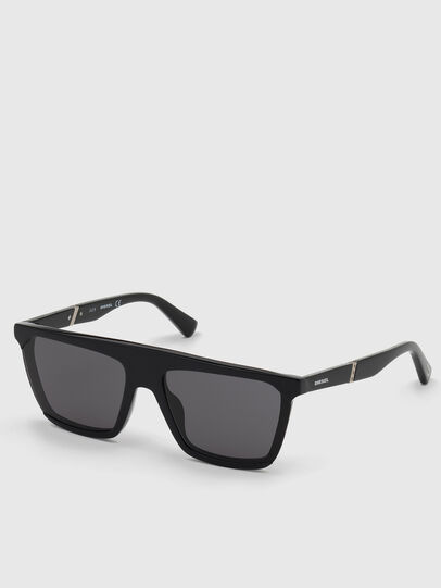 Diesel - DL0323, Bright Black - Sunglasses - Image 2
