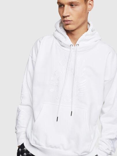 Diesel - S-ALBY-B5, White - Sweaters - Image 4