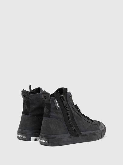 Diesel - S-ASTICO MID ZIP SP, Black - Sneakers - Image 3