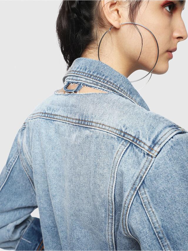 Diesel - DE-NALINI, Blue Jeans - Denim Jackets - Image 4