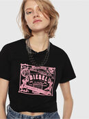 T-SILY-C3, Black/Pink - T-Shirts