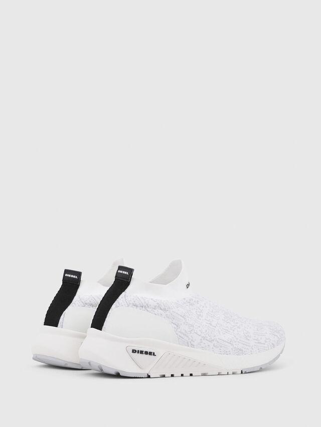 Diesel - S-KB ATHL SOCK, White - Sneakers - Image 3