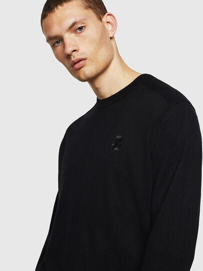 Diesel - K-JOEY, Black - Knitwear - Image 4