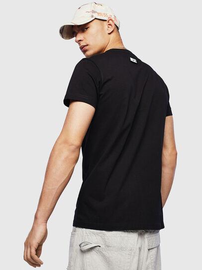 Diesel - T-DIEGO-T16, Black - T-Shirts - Image 2