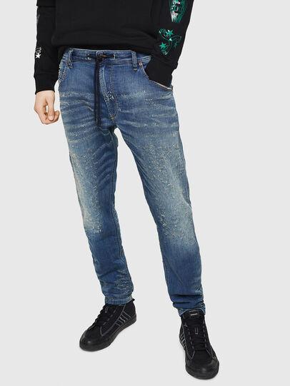Diesel - Krooley JoggJeans 069HG, Medium blue - Jeans - Image 1