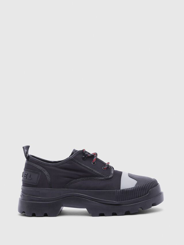 Diesel - D-VAIONT DBS, Black - Lace Ups and Mocassins - Image 1