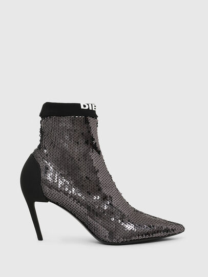 Diesel - D-SLANTY MASM, Black/Silver - Ankle Boots - Image 1