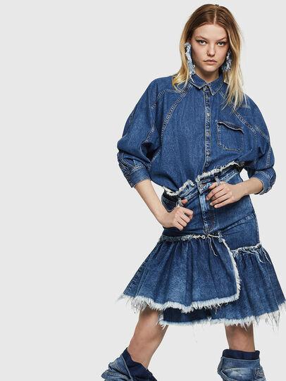 Diesel - DE-ALAYNA,  - Skirts - Image 4
