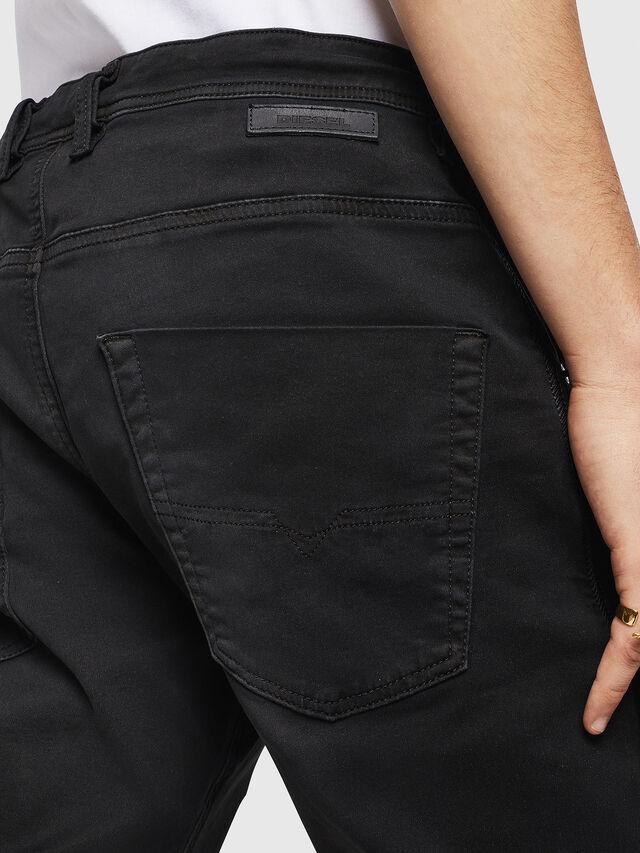Diesel - Krooley Long JoggJeans 0670M, Black - Jeans - Image 4