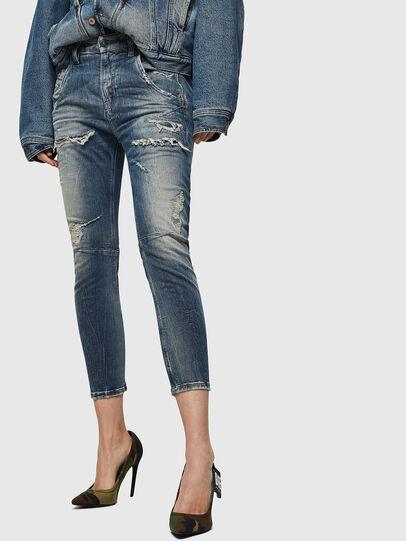 Diesel - Fayza JoggJeans 0890A, Light Blue - Jeans - Image 1