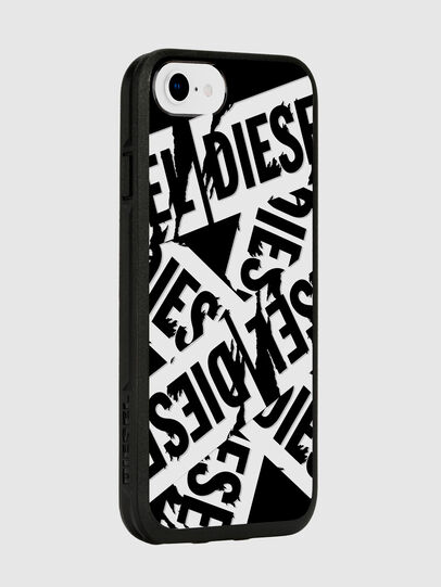 Diesel - MULTI TAPE BLACK/WHITE IPHONE 8/7/6S/6 CASE, Black - Cases - Image 6