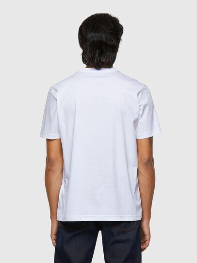 Diesel - T-JUST-B63, White - T-Shirts - Image 2
