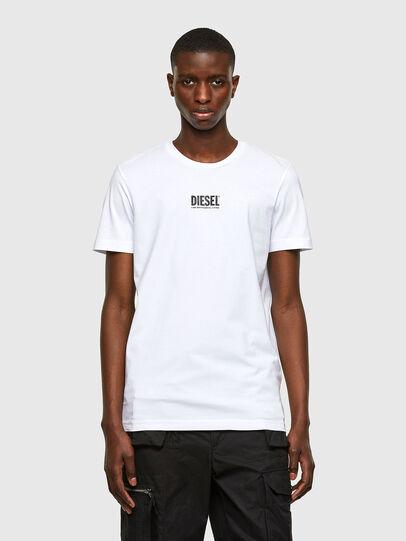 Diesel - T-DIEGOS-SMALLOGO, White - T-Shirts - Image 1