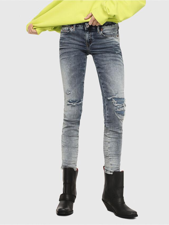 Diesel - Gracey JoggJeans 069FC, Medium blue - Jeans - Image 1