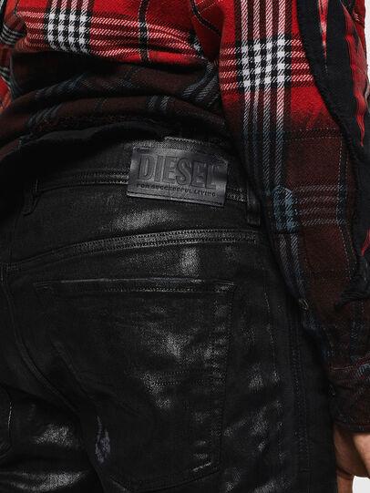 Diesel - Sleenker 0091F, Black/Dark grey - Jeans - Image 5