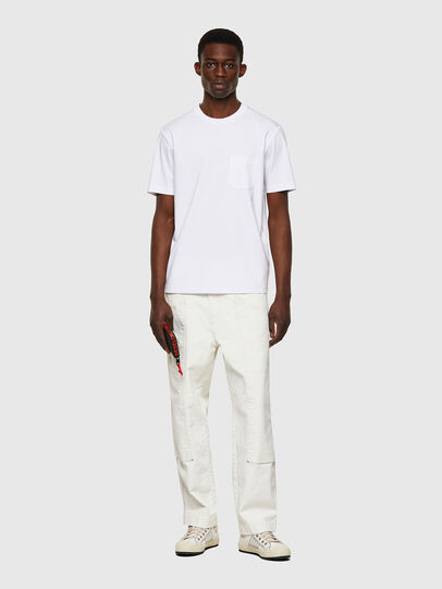 Diesel - T-JUST-WORKY, White - T-Shirts - Image 4