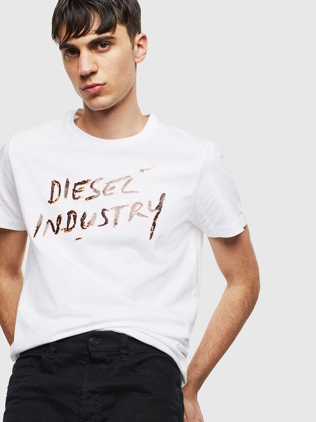 T-DIEGO-S15, White - T-Shirts