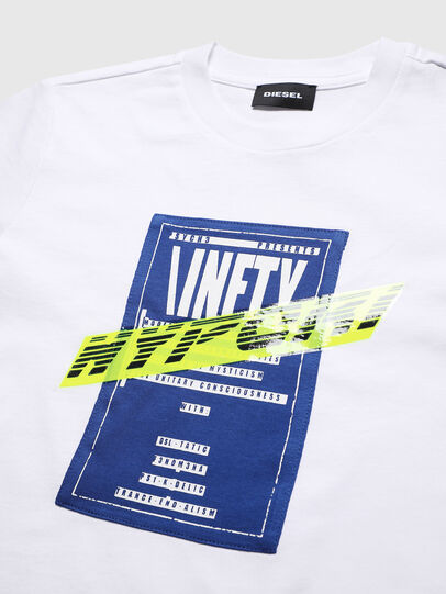 Diesel - TJUSTY7, White - T-shirts and Tops - Image 3