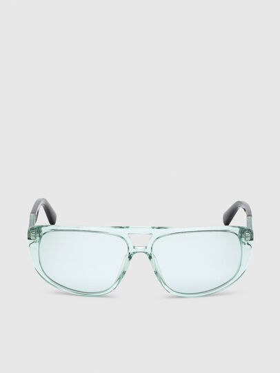 Diesel - DL0300, Light Blue - Sunglasses - Image 1
